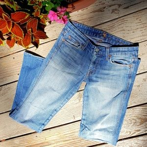 7 For All Mankind denim sz 27 used good condition